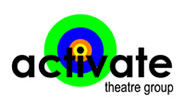 Actvate Theatre Logo Design Example