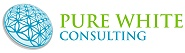 Pure White Consulting Logo Design