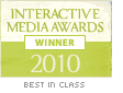 Interactive Media Aware Winner 2010 (Best in Class)